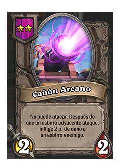 Esbirro de Campos de batalla Cañón Arcano + ilustración