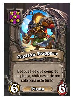 Esbirro de Campos de batalla Capitán Hoggarr + ilustración