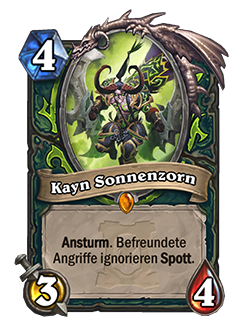 Kayn Sonnenzorn hat jetzt 4 Leben.