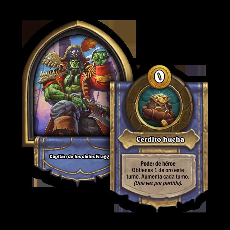 Poder de héroe y retrato de Campos de batalla del Capitán de los cielos Kragg