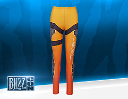 Overwatch Tracer Leggings