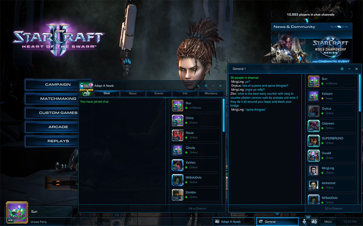 New User Interface Coming To Starcraft Ii Starcraft Ii