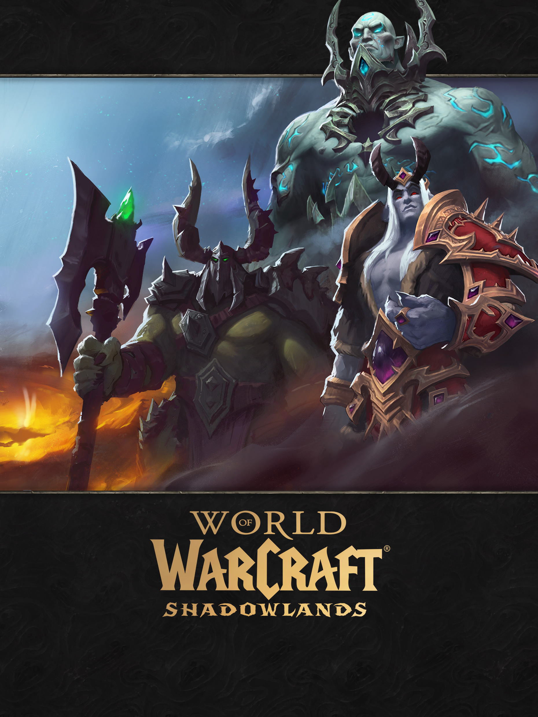 Shadowlands Continent Loading Screen- Maldraxxus, Revendreth, The Maw Version