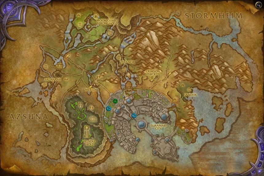 Suramar Haritası