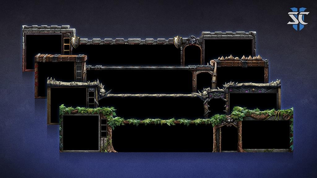 Starcraft II: diseños de consola