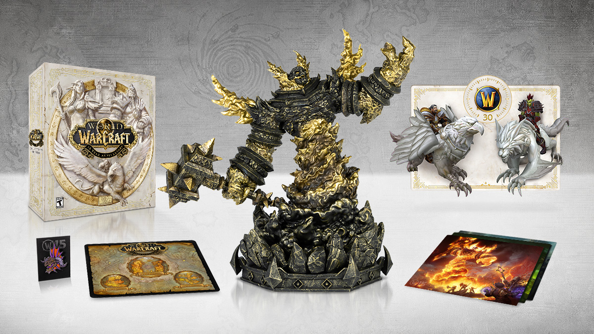 Efterstræbte Get the World of Warcraft 15th Anniversary Collector's Edition BI-29