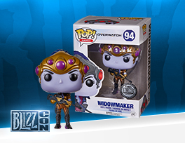 Figurine Funko POP! Fatale d'Overwatch (exclusivité Blizzard)