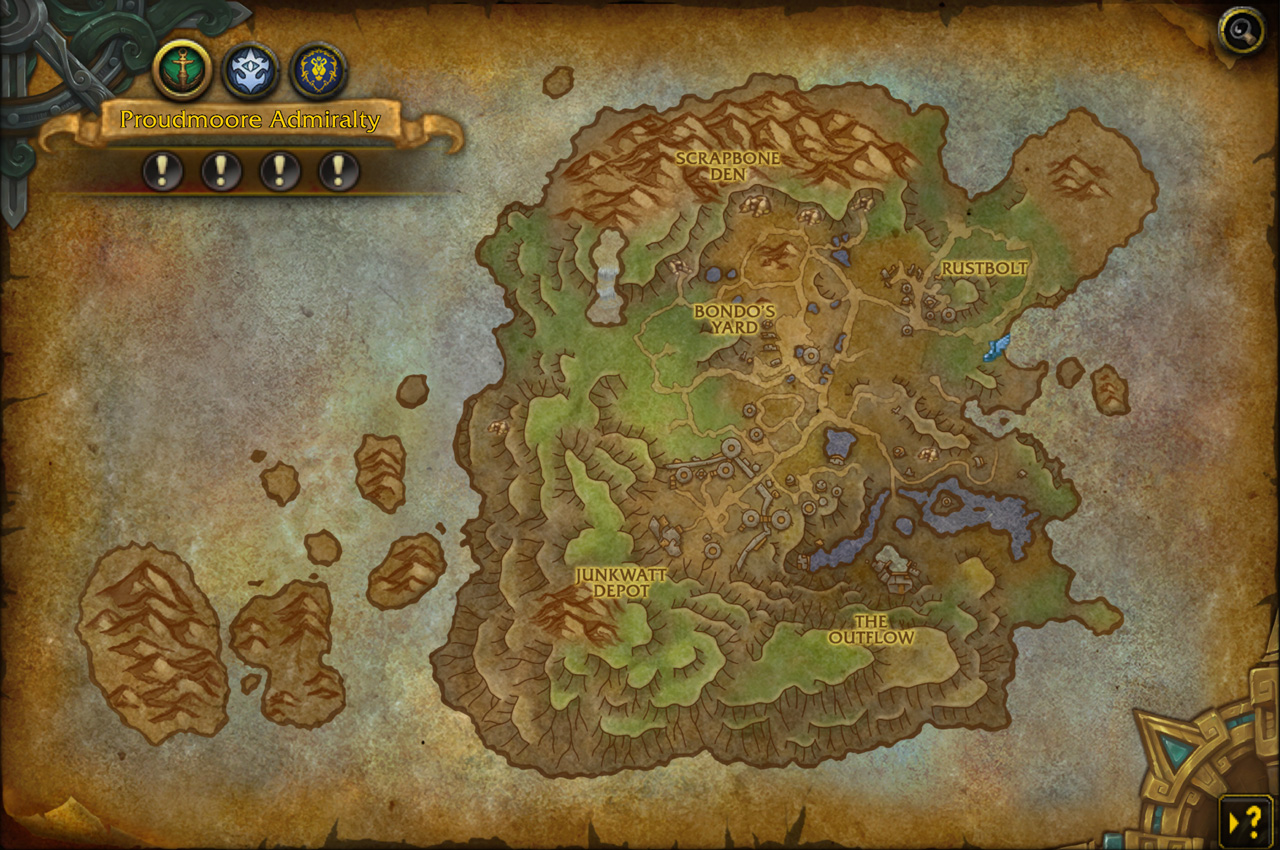 Preview: Mechagon Island Visitor's Guide — World of Warcraft
