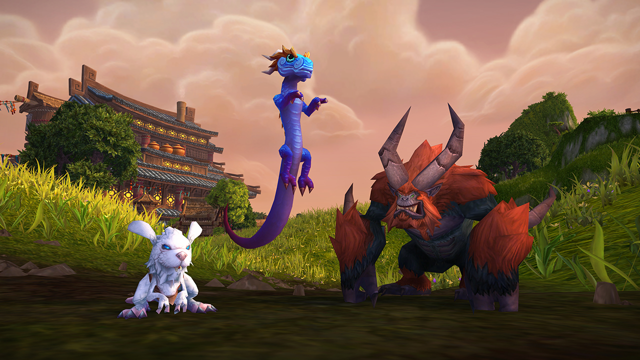 From left to right- Hopling, Azure Windseeker, And Kun-Lai Runt