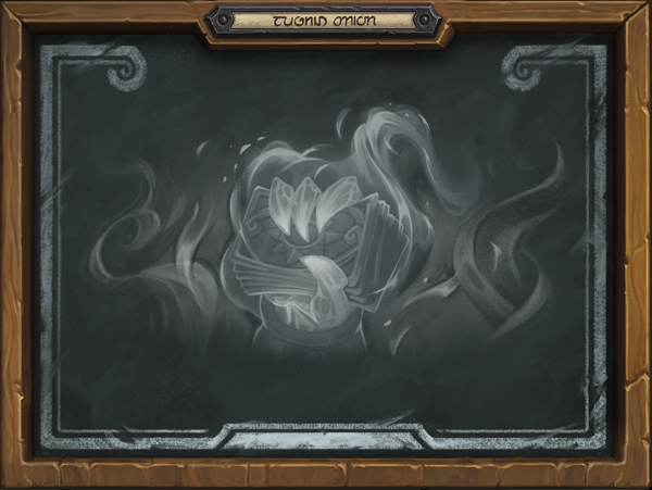 Burndown Tavern Brawl In-game Chalkboard