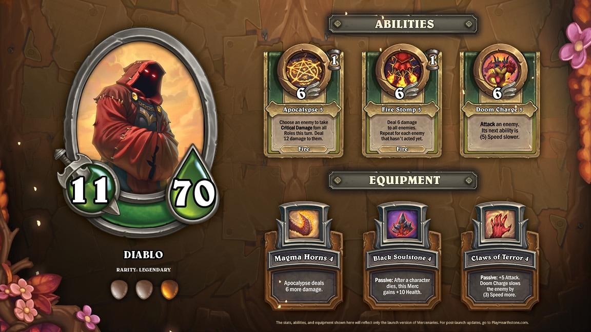 Diablo is a Fighter.