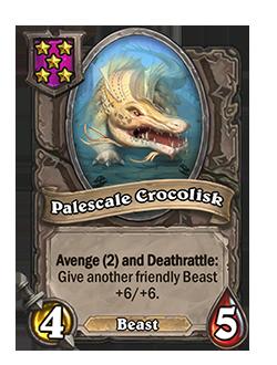 Palescale Crocolisk has 4 attack and 5 health.