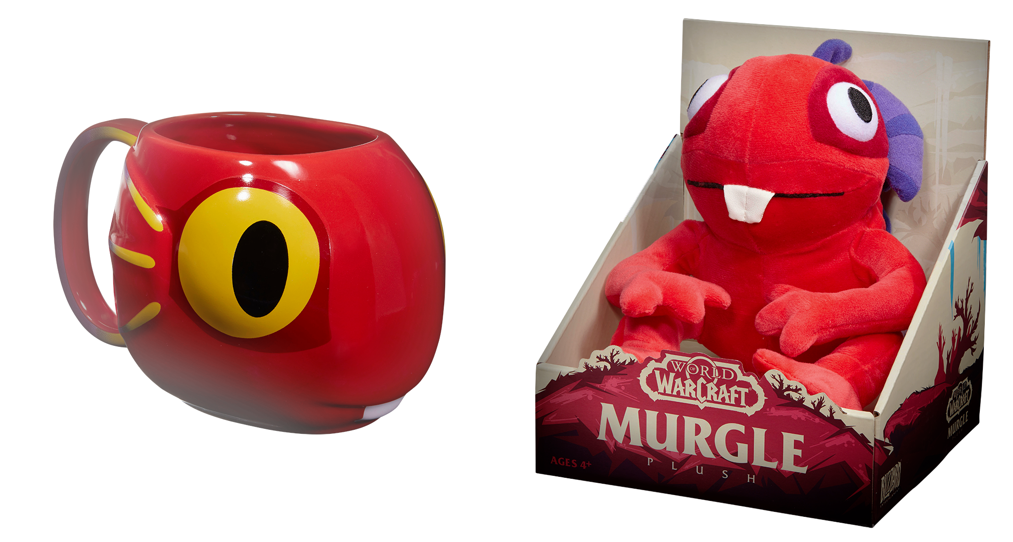Peluche et mug Murgl