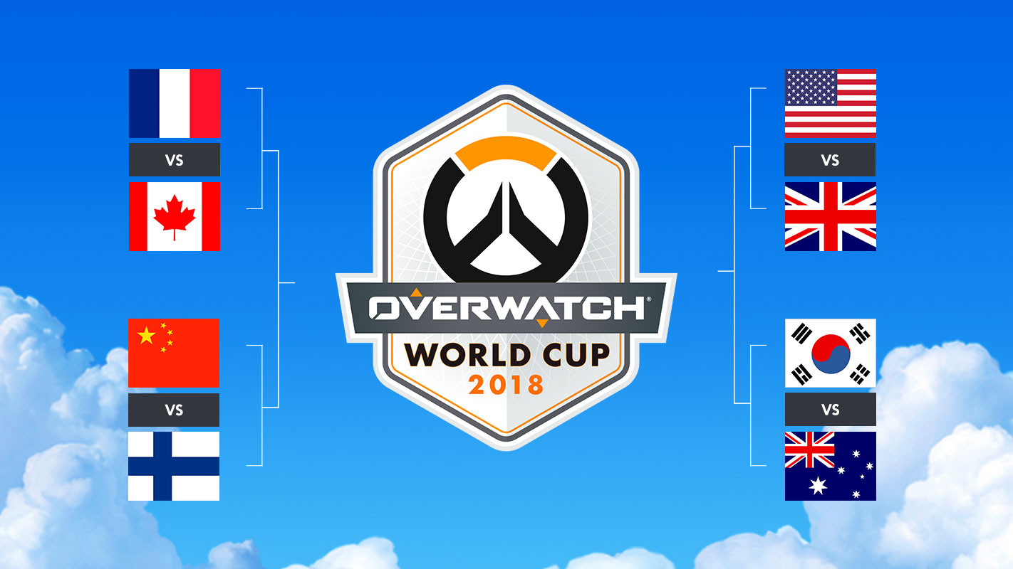 0e883b3c5c04 Overwatch World Cup  Top 8 Preview - BlizzCon 2018