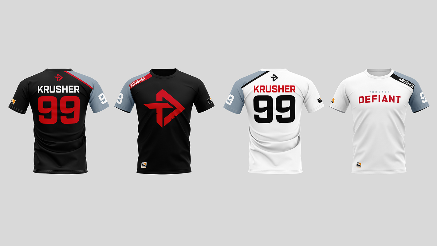 Toronto Defiant Team Jerseys
