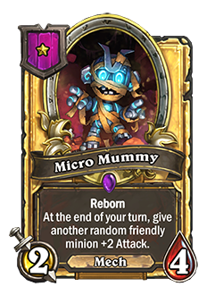 Micro Mummy Gold