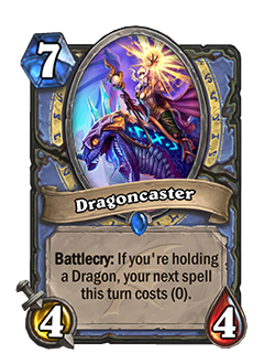 Dragoncaster now cost 7
