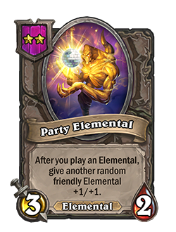 party elemental now has 3 attack