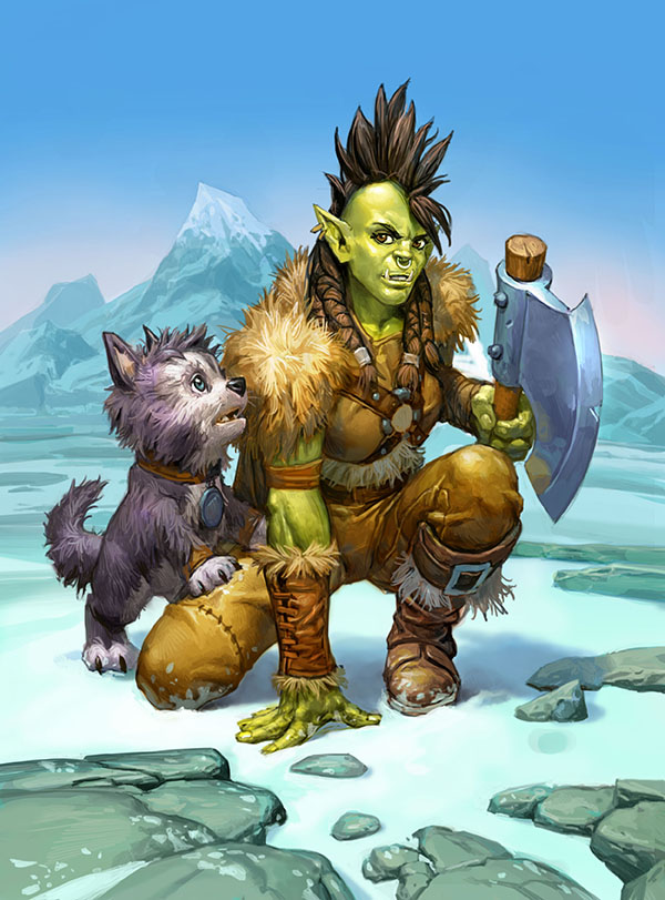 Rokara, Orc Warrior