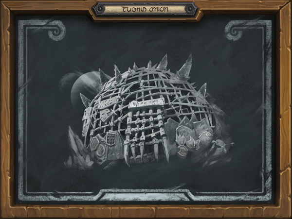 Rumbledome Tavern Brawl In-game Chalkboard