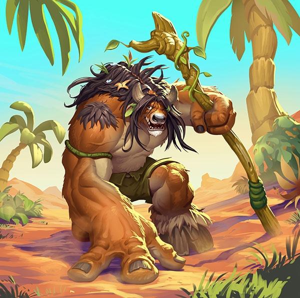 Guff Runa Totem, tauren druida