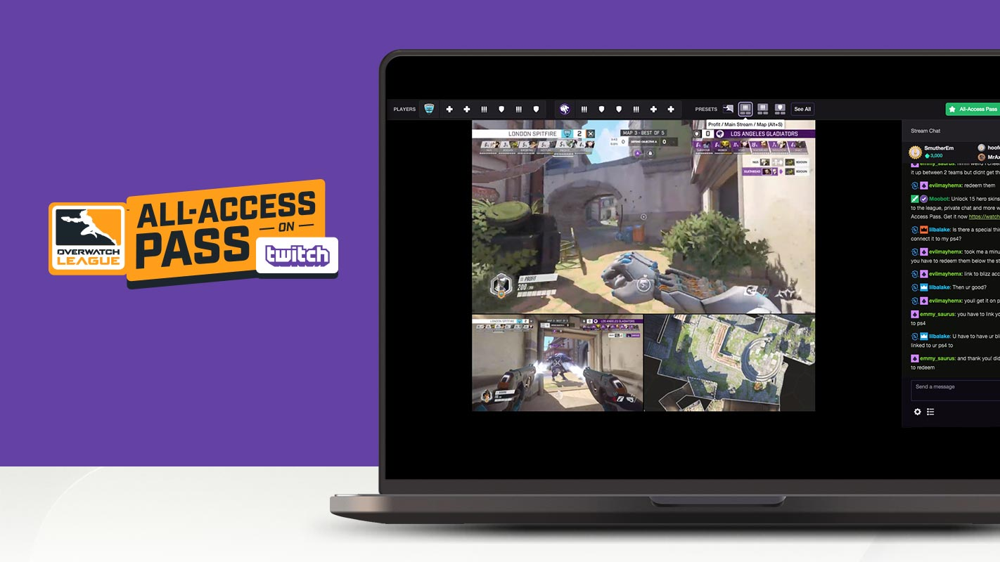 2019 Overwatch League All-Access Pass on Twitch