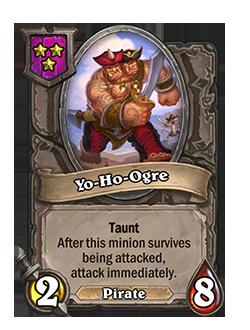 Yo-Ho-Ogre Battlegrounds Minion + Art