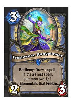 Frostweave Dungeoneer - card details are below