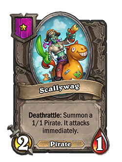Scallywag Battlegrounds Minion + Art