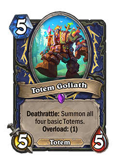 Totem Goliath new