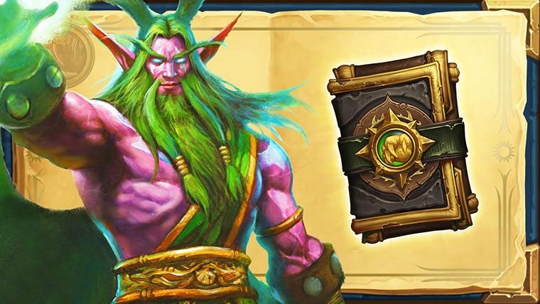 Book of Heroes Malfurion rewards one Druid class pack