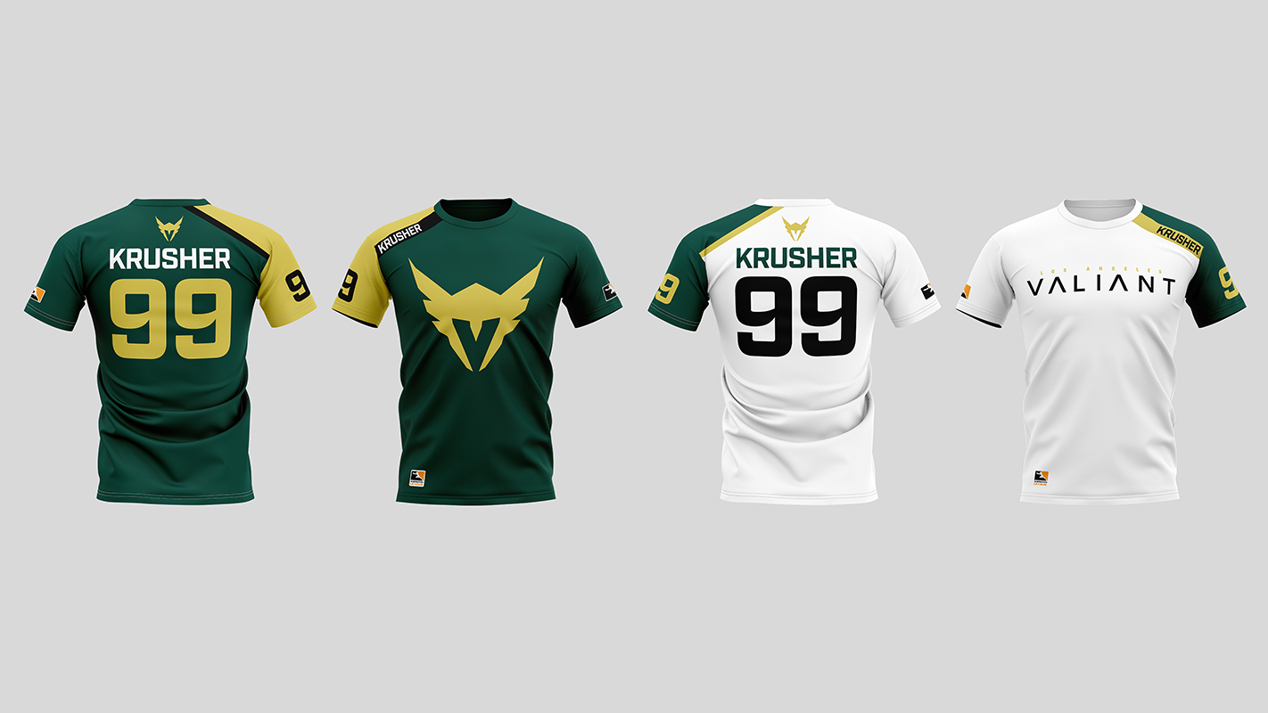 Home and Away Jerseys