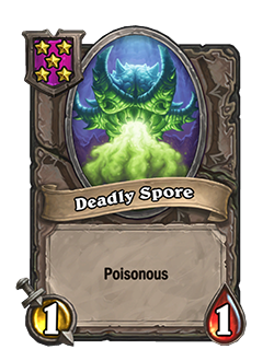 deadly spore is now tier 5