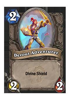 Devout Adventurer has Divine Shield