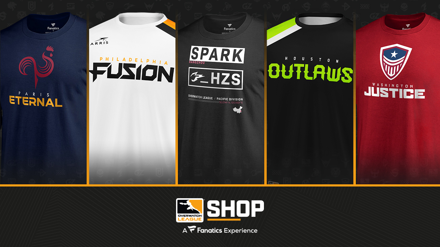Visit the new Overwatch League Shop