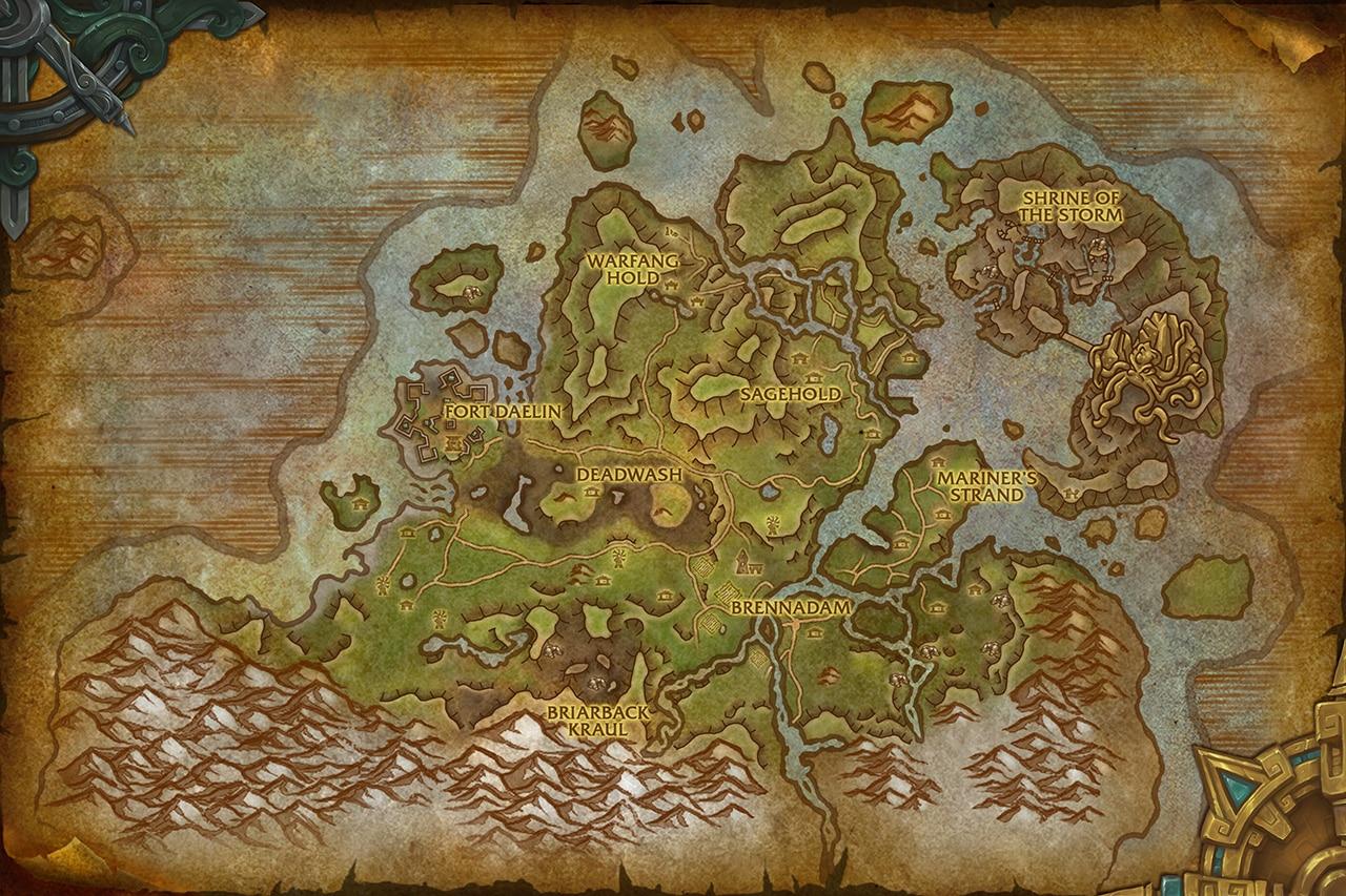 Battle for Azeroth Önizleme: Stormsong Valley Ziyaretçi Rehberi