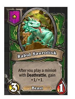 Rabid Saurolisk Minion