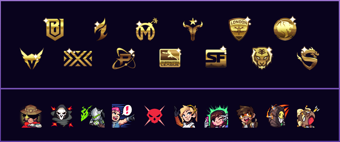 All-Access Pass emotes