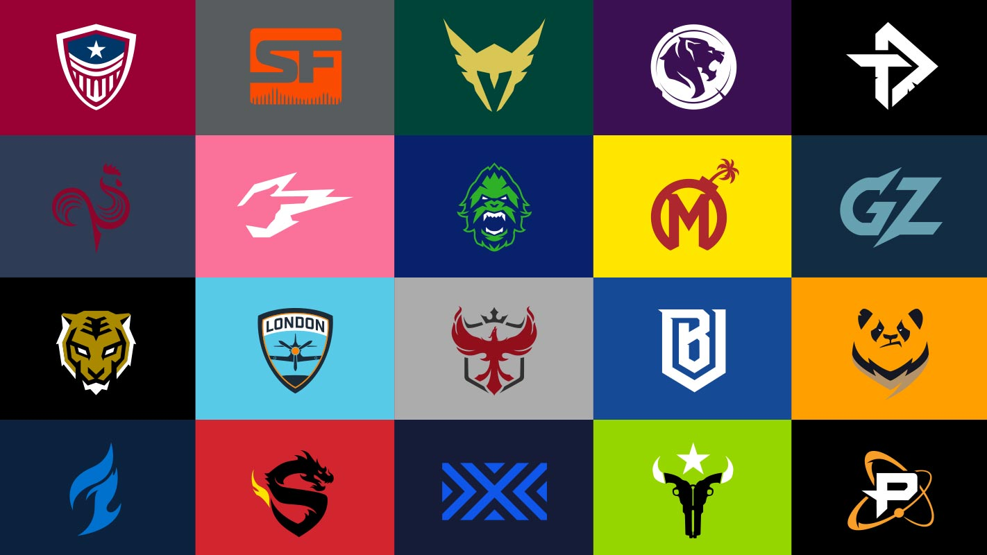 Overwatch League team logos