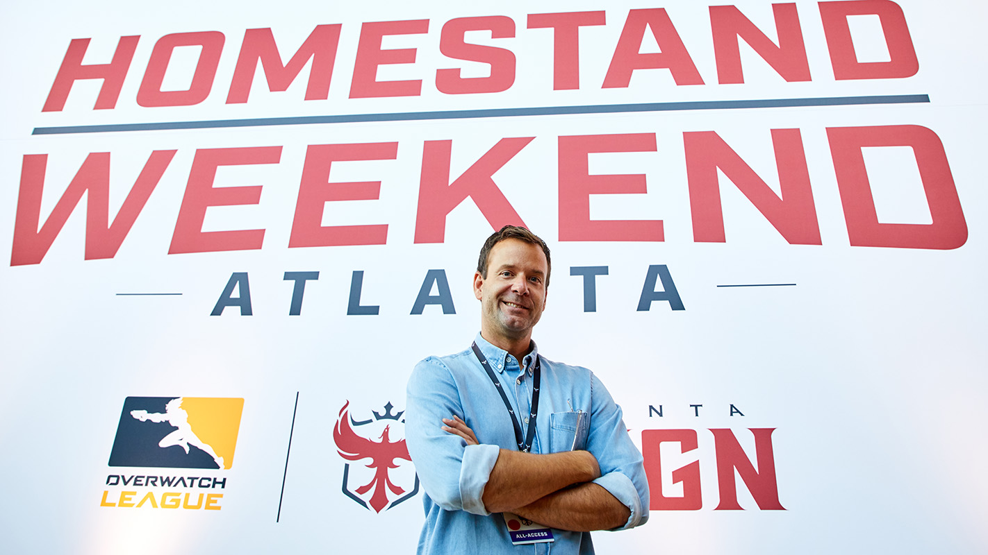 Pete Vlastelica at the Atlanta Homestand Weekend