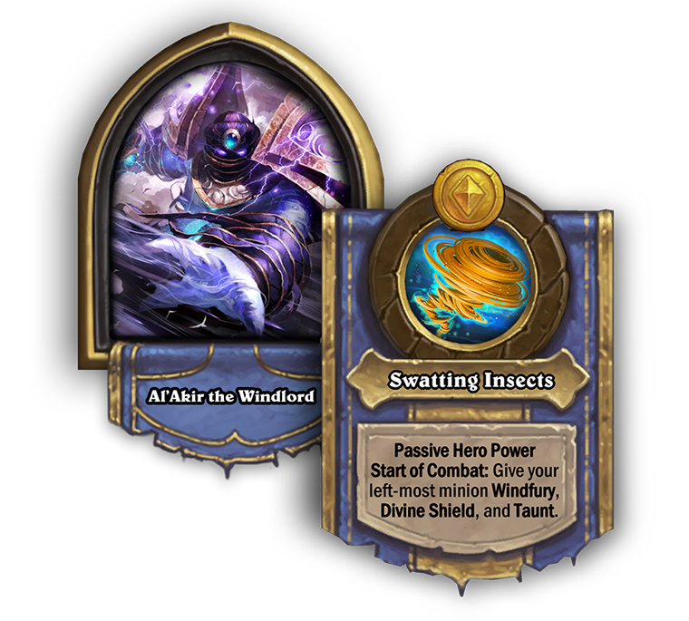 AlAkirTheWindlord and swatting insects hero power pictured