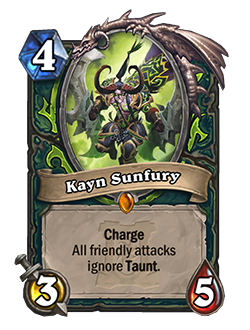 KaynSunfury used to have 5 health
