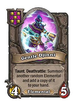 Gentle Djinni is a Tier 5 4/5 now
