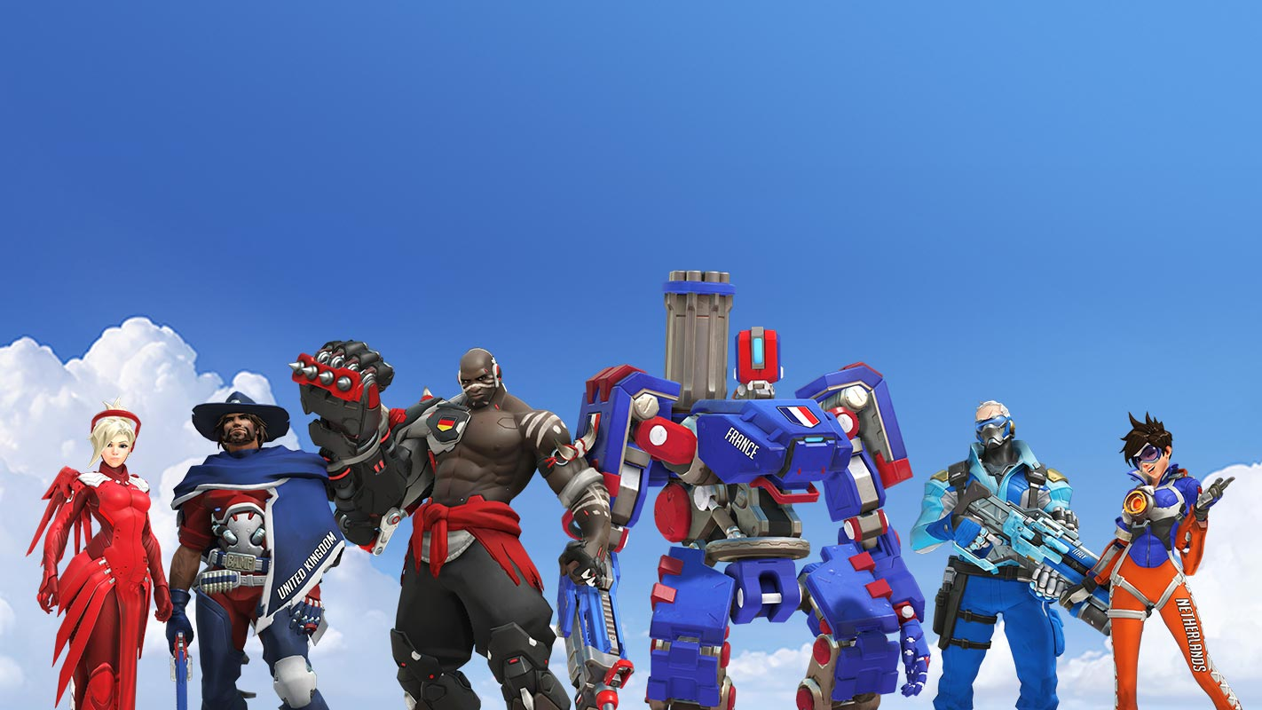 Team France's skins have been recolored