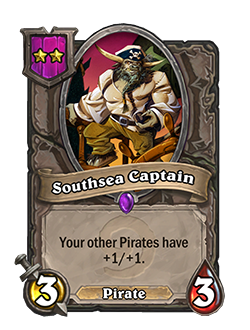 Southsea Captain Battlegrounds Minion + Art