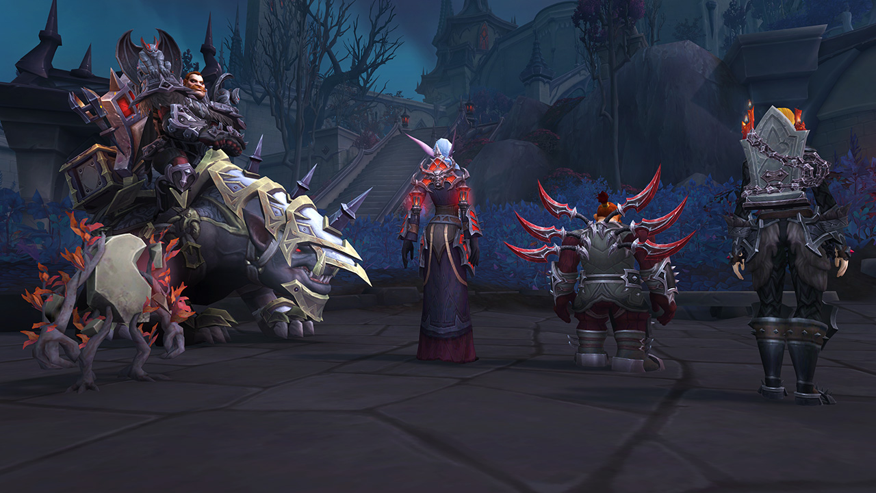 Venthyr Pet,Mount, and Back Attachments