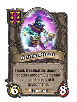 Gentle Djinni pictured