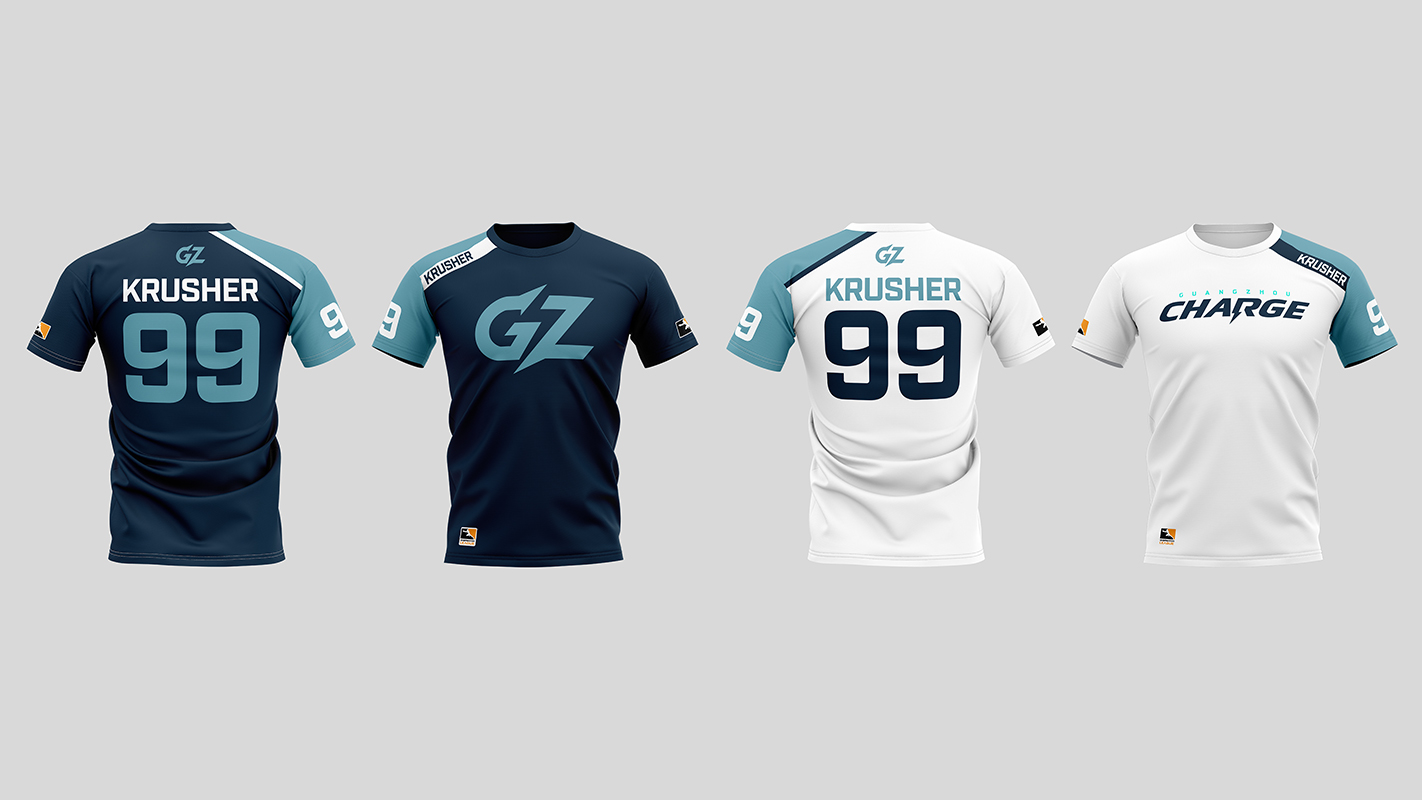 Guangzhou Charge Home and Away Jerseys