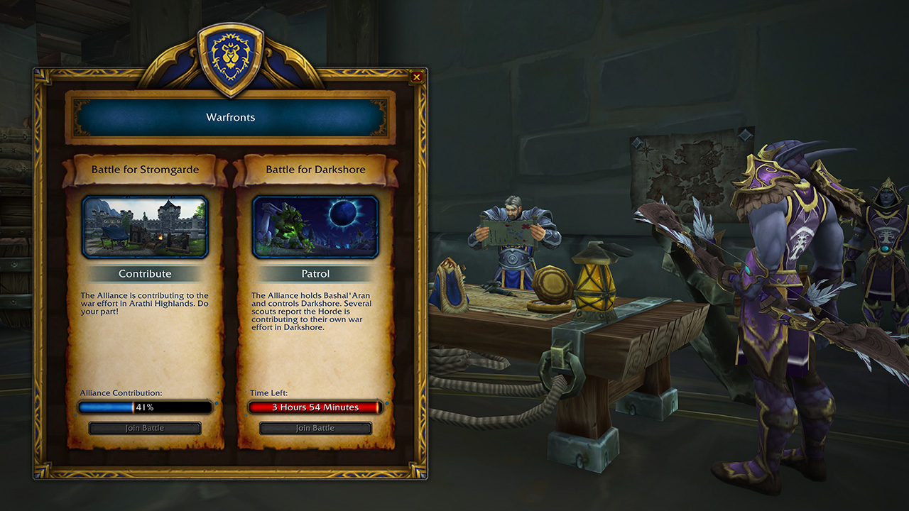 Preview: New Warfront — Battle for Darkshore