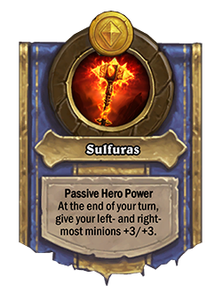 new upgraded Ragnaros Battlegrounds Hero Power